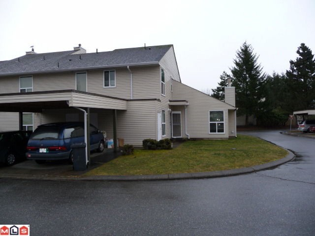 "Main Photo: 80 3030 TRETHEWEY Street in Abbotsford: Abbotsford West Townhouse for sale in ""Clearbrook Village"" : MLS® # F1105942"