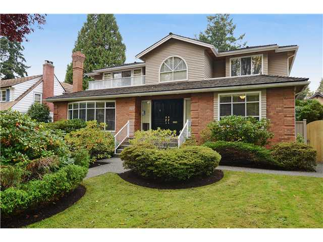 Main Photo: 2433 W 35TH Avenue in Vancouver: Quilchena House for sale (Vancouver West)  : MLS® # V1032086