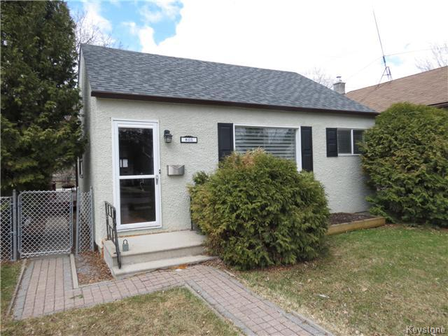 Main Photo: 805 Weatherdon Avenue in WINNIPEG: Manitoba Other Residential for sale : MLS® # 1409357