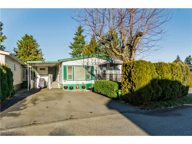 "Main Photo: 215 3665 244TH Street in Langley: Otter District Manufactured Home for sale in ""LANGLEY GROVE ESTATES"" : MLS®# F1431342"