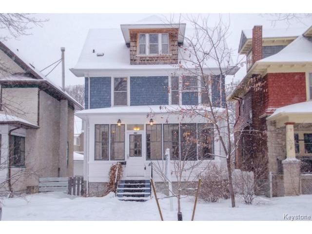 Main Photo: 102 Ruby Street in WINNIPEG: West End / Wolseley Residential for sale (West Winnipeg)  : MLS® # 1503021