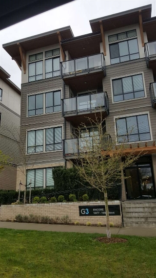 "Main Photo: 101 10477 154 Street in Surrey: Guildford Condo for sale in ""G3 RESIDENCES"" (North Surrey)  : MLS® # R2155334"