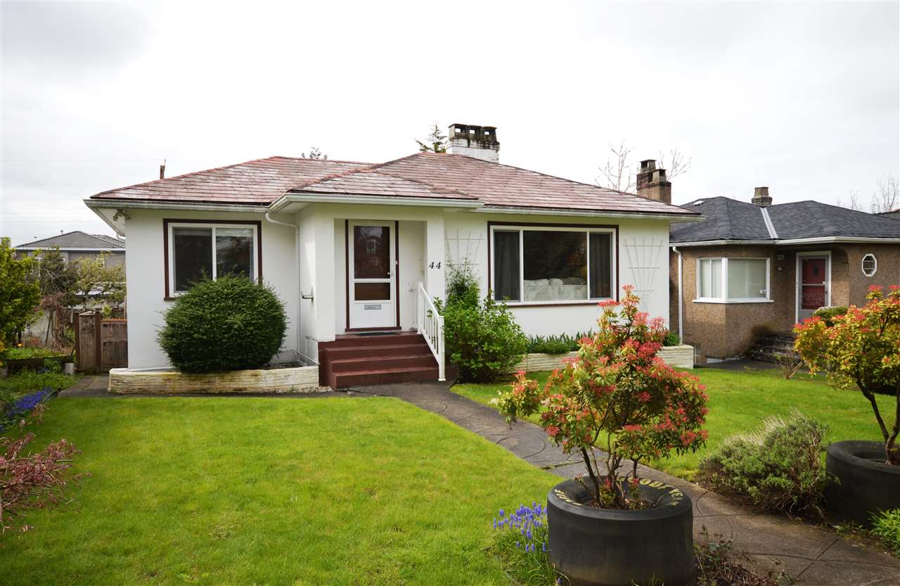 Main Photo: 44 W 43RD Avenue in Vancouver: Oakridge VW House for sale (Vancouver West)  : MLS®# R2159993
