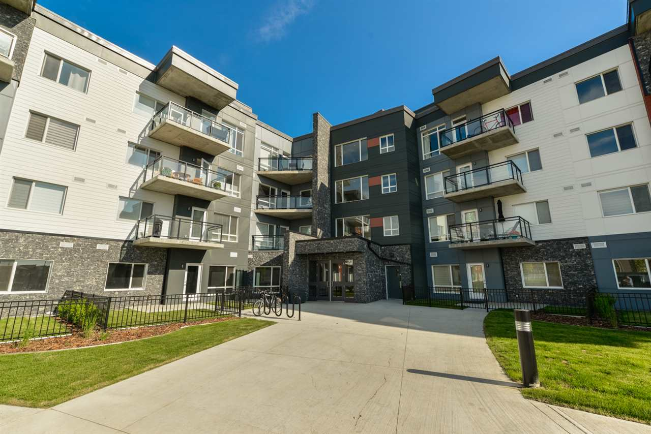 Main Photo: 215 7508 GETTY Gate NW in Edmonton: Zone 58 Condo for sale : MLS(r) # E4068333