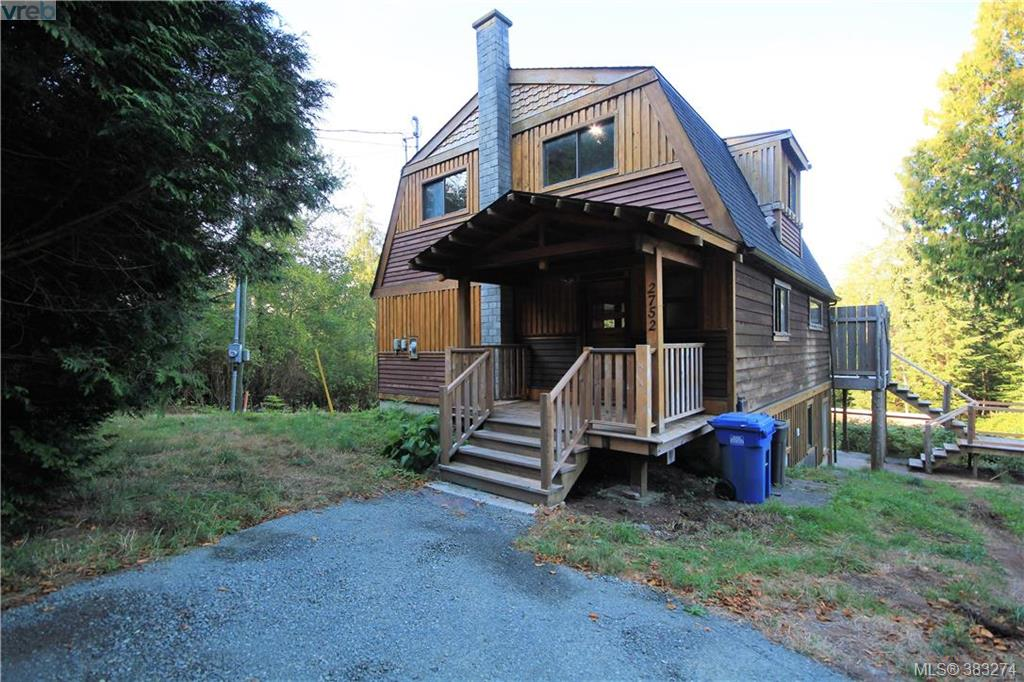 Main Photo: 2752 Woodhaven Road in SHIRLEY: Sk French Beach Single Family Detached for sale (Sooke)  : MLS® # 383274