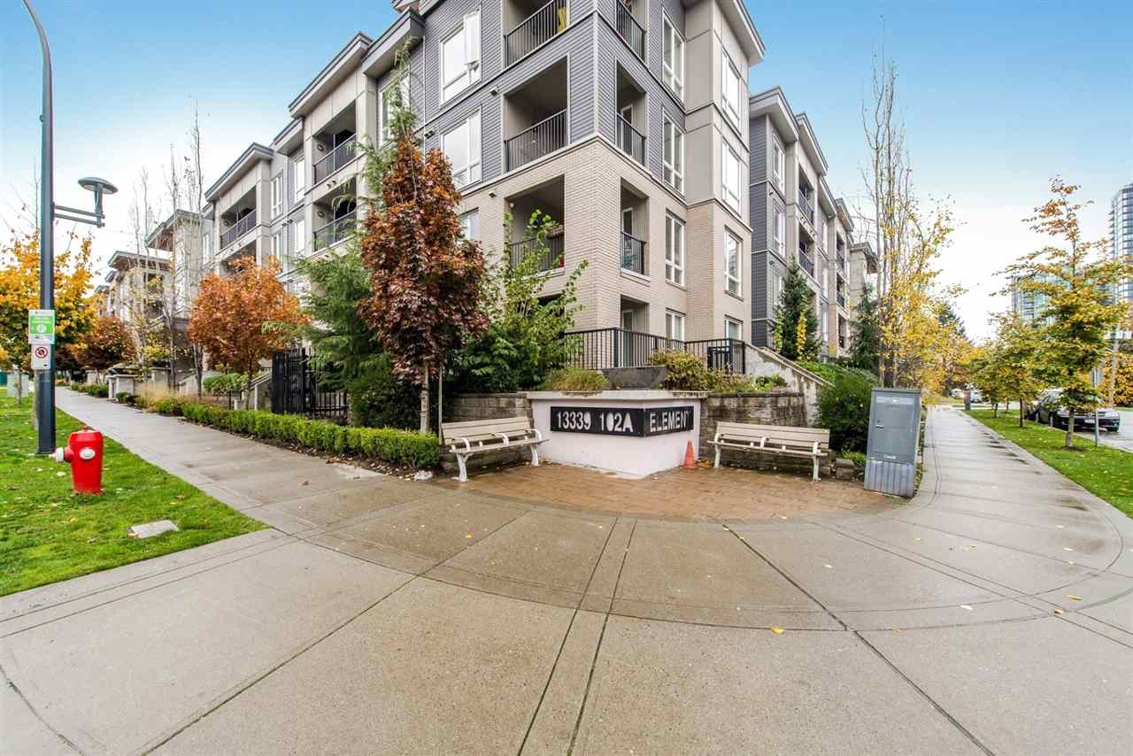"Main Photo: 411 13339 102A Avenue in Surrey: Whalley Condo for sale in ""Element"" (North Surrey)  : MLS® # R2245324"