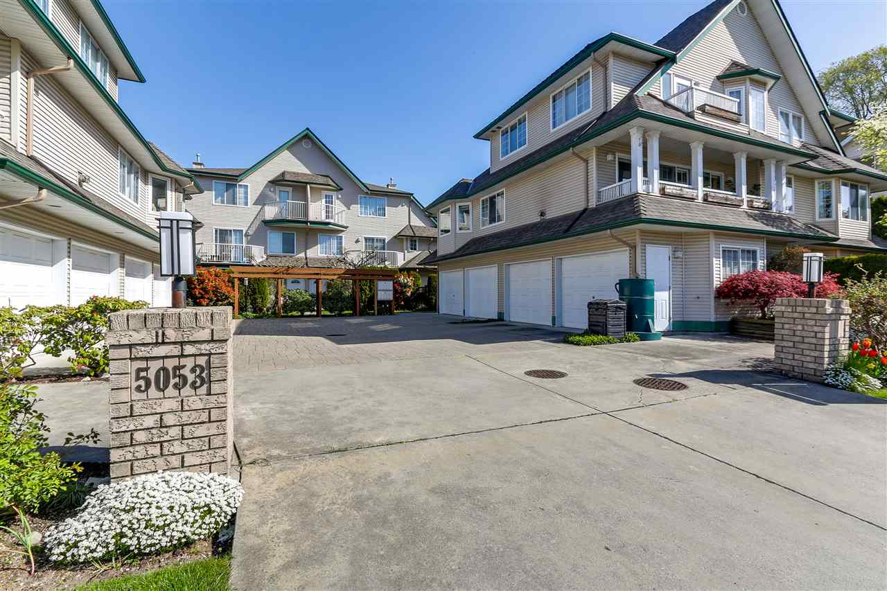 "Main Photo: 6 5053 47 Avenue in Delta: Ladner Elementary Townhouse for sale in ""PARKSIDE PLACE"" (Ladner)  : MLS®# R2261732"