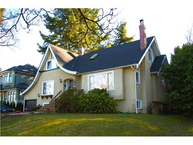 Main Photo: 2146 W 33RD Avenue in Vancouver: Quilchena House for sale (Vancouver West)  : MLS(r) # V872058