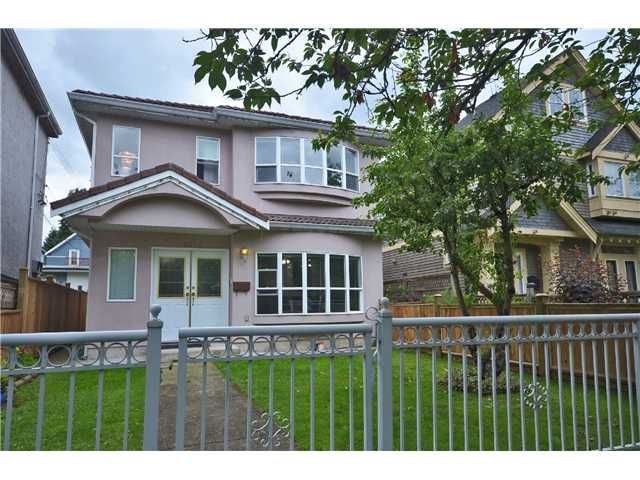 Main Photo: 1020 E 10TH AV in Vancouver: Mount Pleasant VE House 1/2 Duplex for sale (Vancouver East)  : MLS®# V1031216