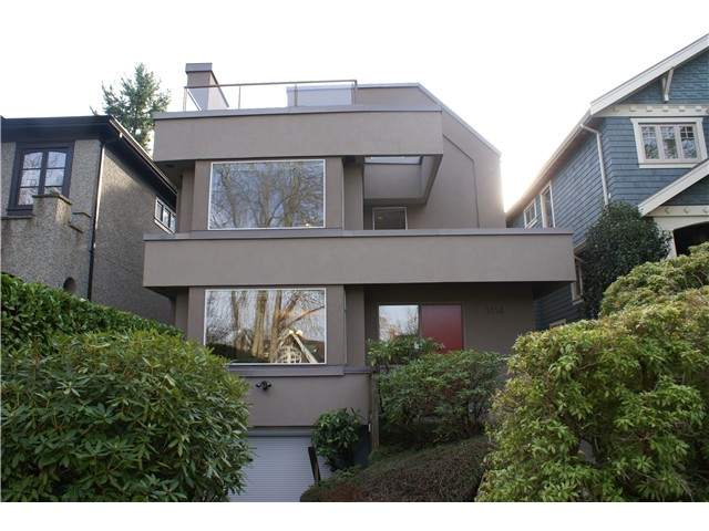Main Photo: 3836 W 15TH Avenue in Vancouver: Point Grey House for sale (Vancouver West)  : MLS® # V1037659