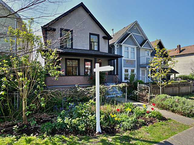 Main Photo: 340 UNION Street in Vancouver: Mount Pleasant VE House for sale (Vancouver East)  : MLS® # V1117661