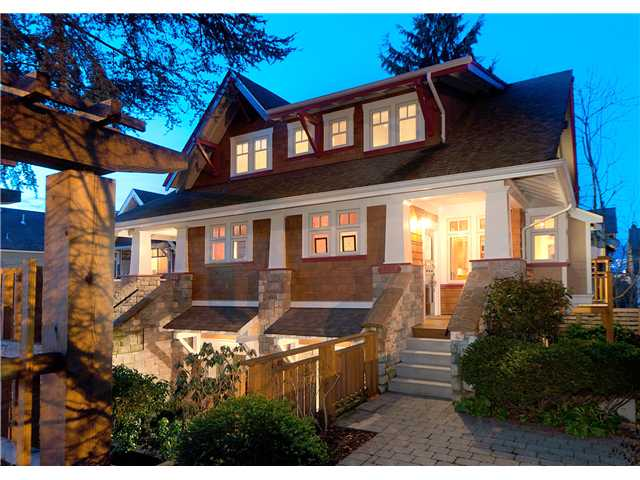 Main Photo: 2655 YORK AV in : Kitsilano House 1/2 Duplex for sale : MLS®# V895198