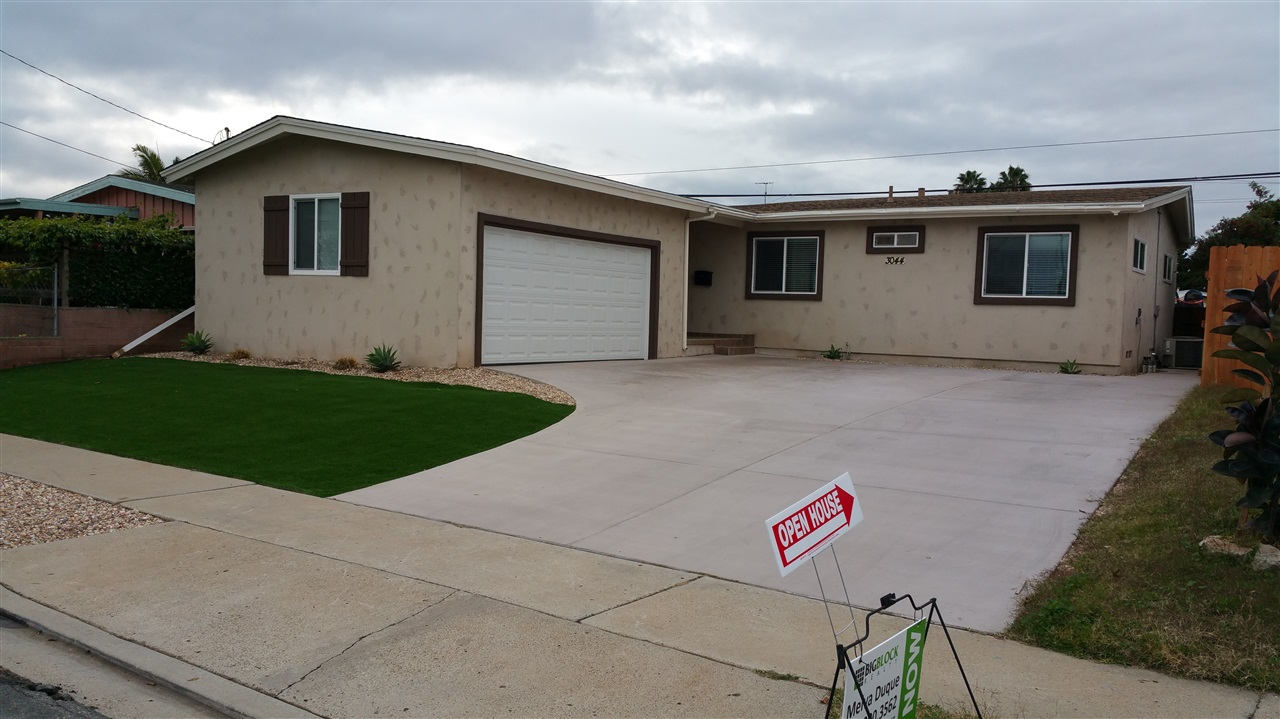 Main Photo: SAN DIEGO House for sale : 4 bedrooms : 3044 GREYLING DR