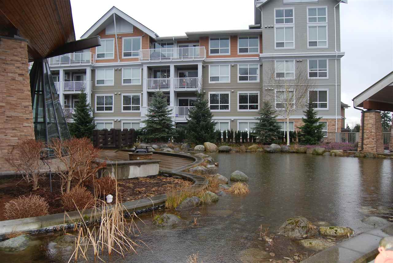 "Main Photo: 106 6450 194 Street in Surrey: Clayton Condo for sale in ""WATERSTONE"" (Cloverdale)  : MLS®# R2140130"
