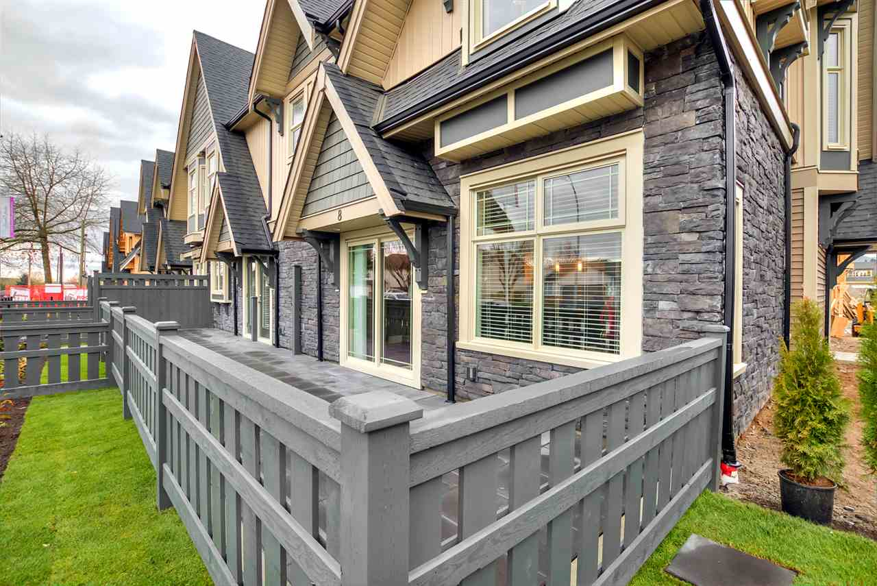 "Main Photo: 3 19095 MITCHELL Road in Pitt Meadows: Central Meadows Townhouse for sale in ""BROGDEN BROWN"" : MLS®# R2152678"
