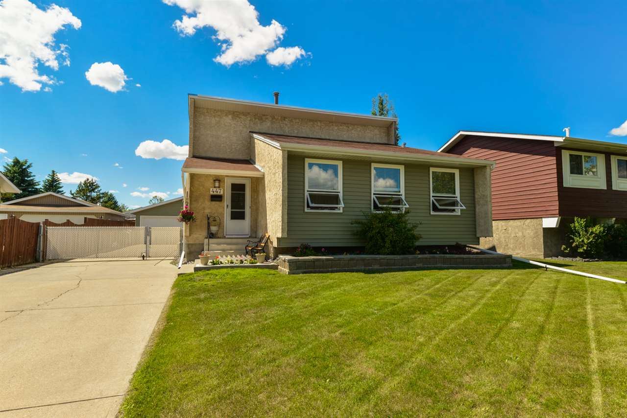 Main Photo: 447 Huffman Crescent NW in Edmonton: Zone 35 House for sale : MLS(r) # E4069818