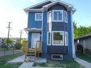 Main Photo: 8145 85 Avenue in Edmonton: Zone 18 House Half Duplex for sale : MLS® # E4079659