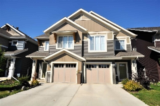 Main Photo: 5431 CRABAPPLE Loop in Edmonton: Zone 53 House Half Duplex for sale : MLS® # E4079670