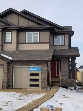 Main Photo: 2607 Casey Way SW in Edmonton: Zone 55 Attached Home for sale : MLS® # E4095374
