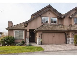 "Main Photo: 120 15350 SEQUOIA Drive in Surrey: Fleetwood Tynehead Townhouse for sale in ""The Village at Sequoia Ridge"" : MLS®# R2246713"