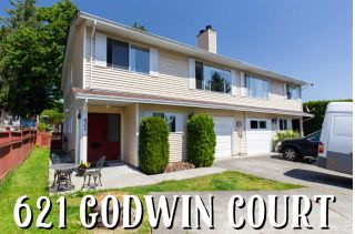 Main Photo: 621 GODWIN Court in Coquitlam: Coquitlam West House 1/2 Duplex for sale : MLS®# R2271211