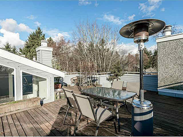 Amazing 60 sq ft rooftop deck!