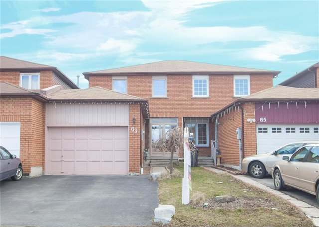 Main Photo: 63 Tulip Drive in Brampton: Fletcher's Creek South House (2-Storey) for sale : MLS(r) # W3445424
