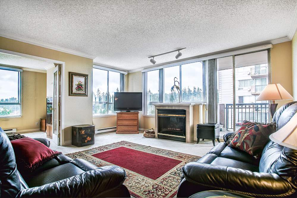 "Photo 3: 1402 551 AUSTIN Avenue in Coquitlam: Coquitlam West Condo for sale in ""BROOKMERE TOWERS"" : MLS(r) # R2150126"