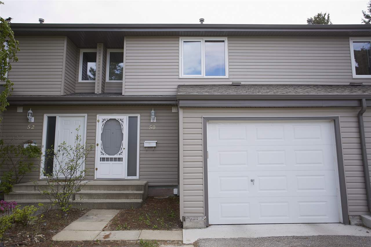 Main Photo: 50 AKINSDALE Gardens: St. Albert Townhouse for sale : MLS(r) # E4065717