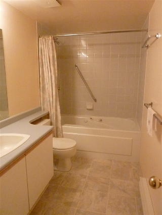 Second bathroom with soaker tub