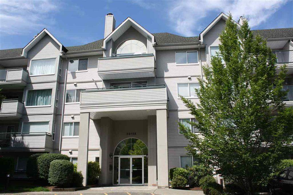 "Main Photo: 411 33708 KING Road in Abbotsford: Poplar Condo for sale in ""COLLEGE PARK"" : MLS® # R2194881"