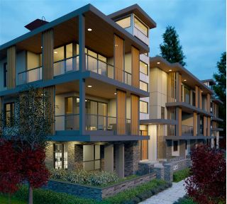 "Main Photo: 6 1205 HAROLD Road in North Vancouver: Lynn Valley Townhouse for sale in ""COVO TOWN HOMES"" : MLS® # R2227185"