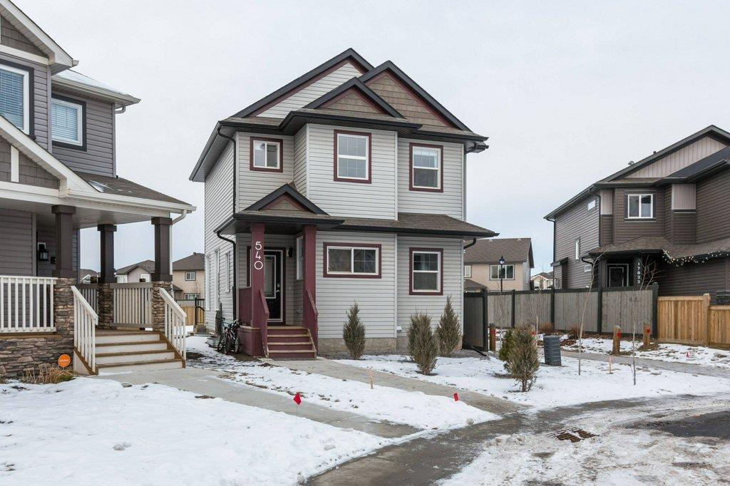 Main Photo: 540 178A Street SW in Edmonton: Zone 56 House for sale : MLS® # E4092652