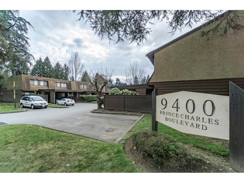 "Main Photo: 140 9459 PRINCE CHARLES Boulevard in Surrey: Queen Mary Park Surrey Townhouse for sale in ""Prince Charles Estates"" : MLS® # R2247133"