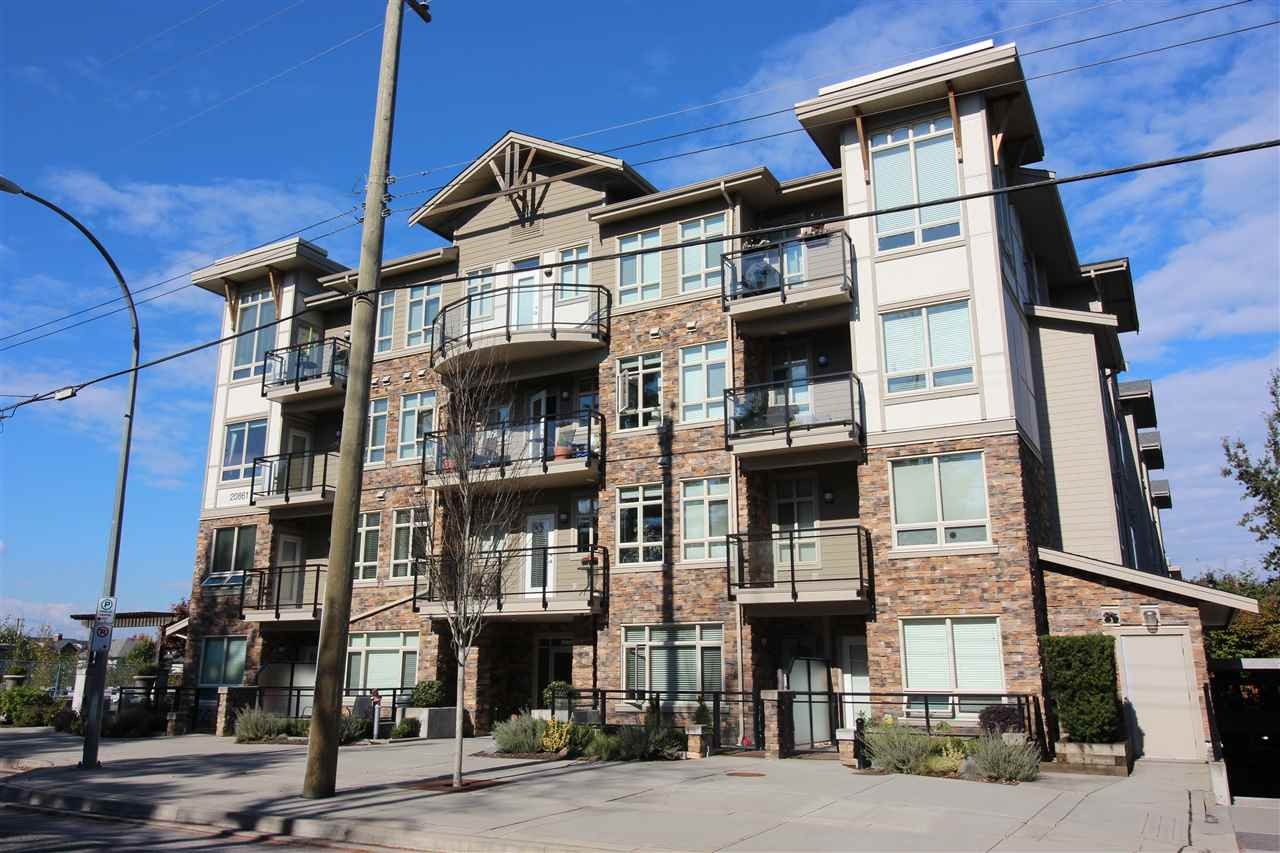 "Main Photo: 415 20861 83 Avenue in Langley: Willoughby Heights Condo for sale in ""Athenry Gate"" : MLS®# R2314236"