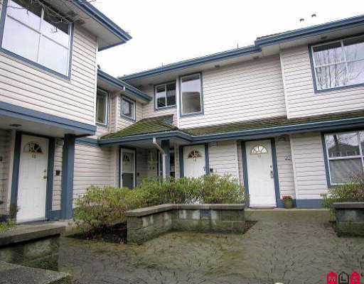 "Main Photo: 15 5664 208TH ST in Langley: Langley City Townhouse for sale in ""THE MEADOWS"" : MLS(r) # F2601507"