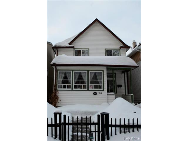 Main Photo: 95 Lansdowne Avenue in WINNIPEG: West Kildonan / Garden City Residential for sale (North West Winnipeg)  : MLS® # 1401785