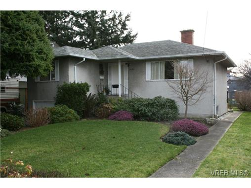 Main Photo: 1875 Townley Street in VICTORIA: SE Camosun Single Family Detached for sale (Saanich East)  : MLS® # 348719