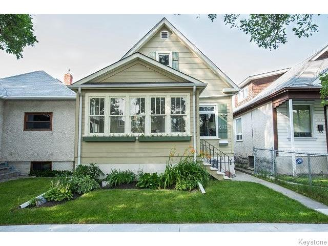 Main Photo: 607 Atlantic Avenue in Winnipeg: Residential for sale : MLS® # 1519197