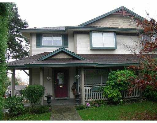 Main Photo: 1052 ALDERSON Ave in Coquitlam: Maillardville House 1/2 Duplex for sale : MLS® # V620992
