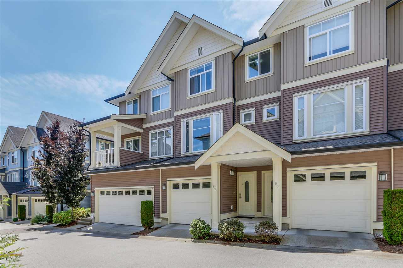"Main Photo: 69 6575 192 Street in Surrey: Clayton Townhouse for sale in ""Ixia"" (Cloverdale)  : MLS(r) # R2076740"