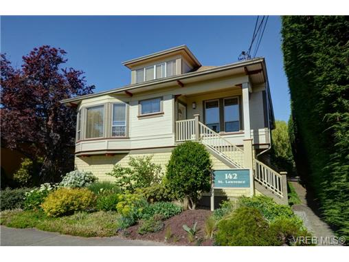 Photo 1: C 142 St. Lawrence Street in VICTORIA: Vi James Bay Townhouse for sale (Victoria)  : MLS® # 368037