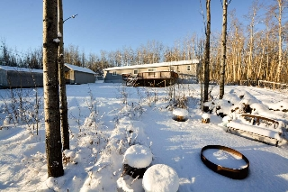 Main Photo: 13326 HIGHLEVEL Crescent: Charlie Lake Manufactured Home for sale (Fort St. John (Zone 60))  : MLS® # R2126238