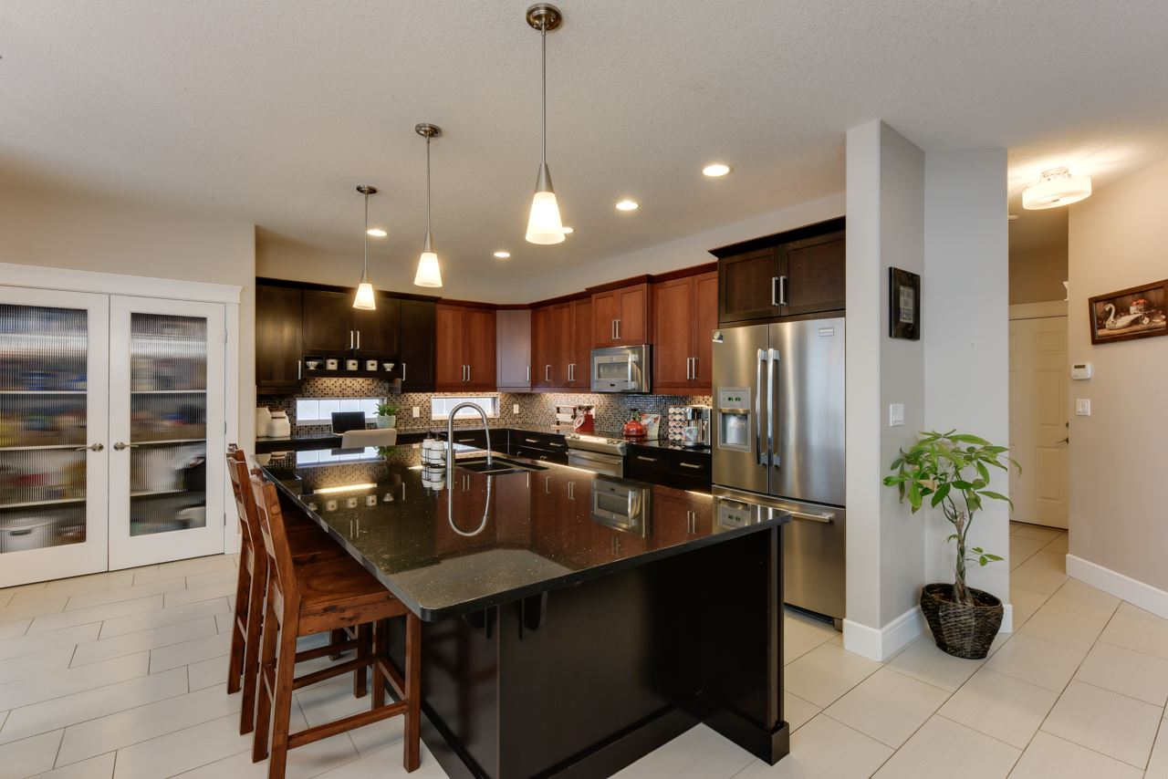 Granite Counters and Pantry