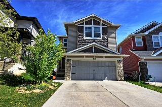 Main Photo: 100 SAGE BANK Crescent NW in Calgary: Sage Hill House for sale : MLS®# C4118366