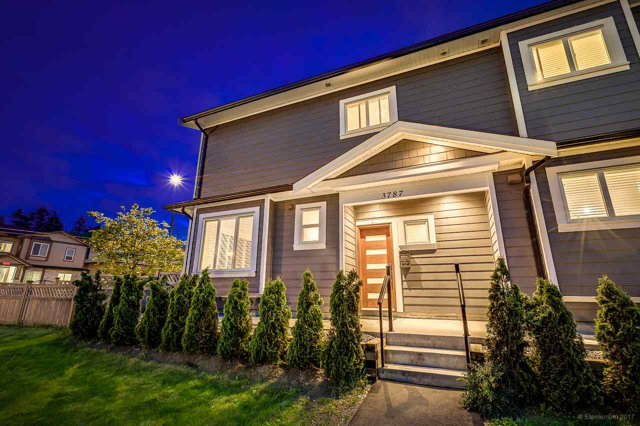 Main Photo: 3787 GODWIN Avenue in Burnaby: Central BN House 1/2 Duplex for sale (Burnaby North)  : MLS(r) # R2174294