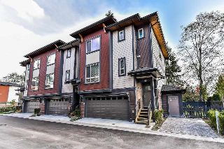 "Main Photo: 48 16118 87 Avenue in Surrey: Fleetwood Tynehead Townhouse for sale in ""ACADEMY"" : MLS® # R2213604"