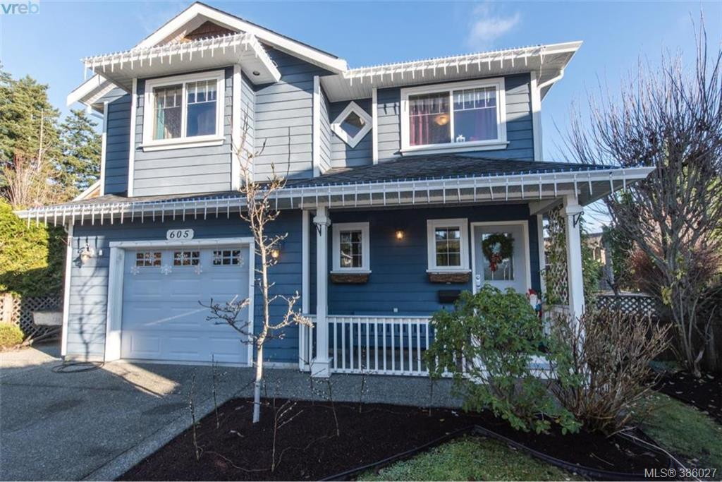 Main Photo: 605 Hammond Court in VICTORIA: Co Triangle Single Family Detached for sale (Colwood)  : MLS®# 386027