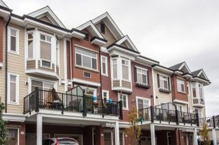 "Main Photo: 32 8068 207 Street in Langley: Willoughby Heights Townhouse for sale in ""Yorkson Creek"" : MLS® # R2229609"