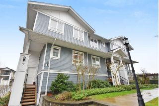 "Main Photo: 20 1130 EWEN Avenue in New Westminster: Queensborough Townhouse for sale in ""GLADSTONE PARK"" : MLS® # R2248570"
